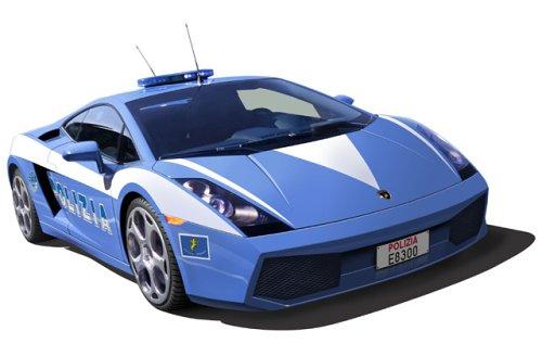 Fujimi - Lamborghini Gallardo Polizei Polizei Polizei 05573c