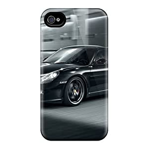 New PEeymYK8576jfFEO Cayman S Black Tpu Cover Case For Iphone 4/4s