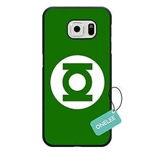 Onelee Samsung Galaxy S6 Edge Case, Customized Green Lantern Black Hard Shell Samsung Galaxy S6 Edge Case, Green Lantern Galaxy S6 Edge Case(Only Fit for Galaxy S6 Edge)