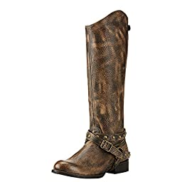 Ariat Womens Manhattan New West 8.5 B Brooklyn Brown