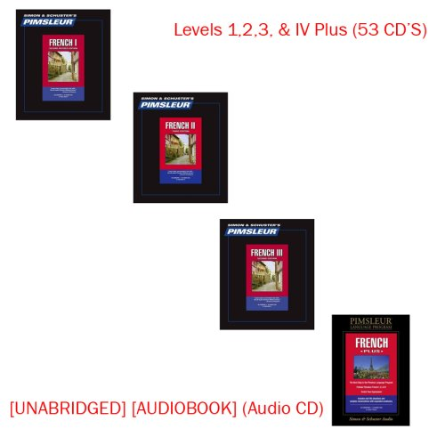 Pimsleur Comprehensive French Level UNABRIDGED product image