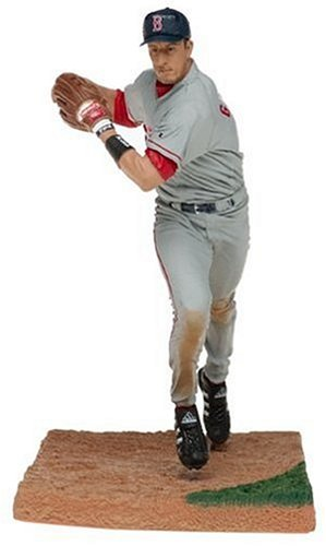 T M P Intl MLB Series 9 Figure  Nomar Garciaparra with Gray Boston Red Sox  Jersey 44c3e9e4ba5