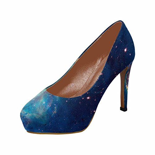 InterestPrint Womens Classic Fashion High Heel Platform Pumps Image Of a Stellar Jet In The Carina Nebula lUC7npDY