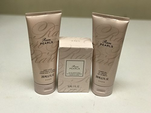 Rare Pearls Body Lotion, Shower Gel, and Perfume