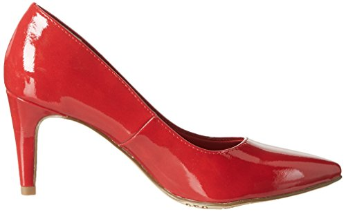 Tamaris Women's 22447 Closed Toe Heels, Black (Black Patent), 3 UK Red (Chili Patent 520)