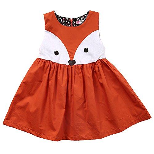 infant fox dress - 2