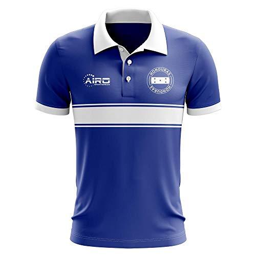 77a72bdd Airo Sportswear Honduras Concept Stripe Polo Football Soccer T-Shirt Jersey  (Blue)