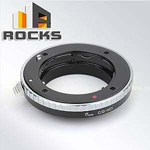 Traje adaptador de montaje ARBUYSHOP Pixco para Contax lente G de Sony NEX A6000 A5100 A5000 A3000 cámara NEX-3 NEX-5 NEX-5T NEX-3N NEX-3C NEX-5N