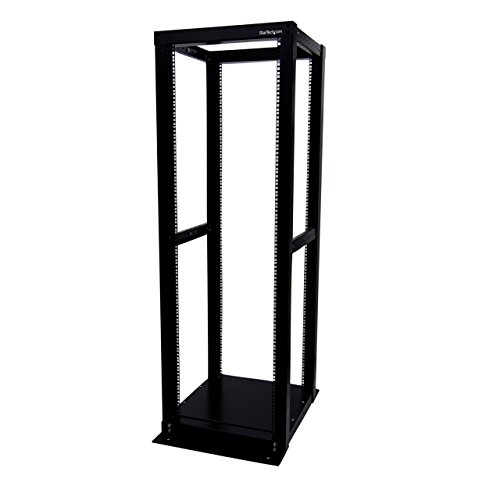 StarTech.com 4-Post Server Rack with Open Frame - Rack Cabinet with Open Frame - 36U (4POSTRACK36)