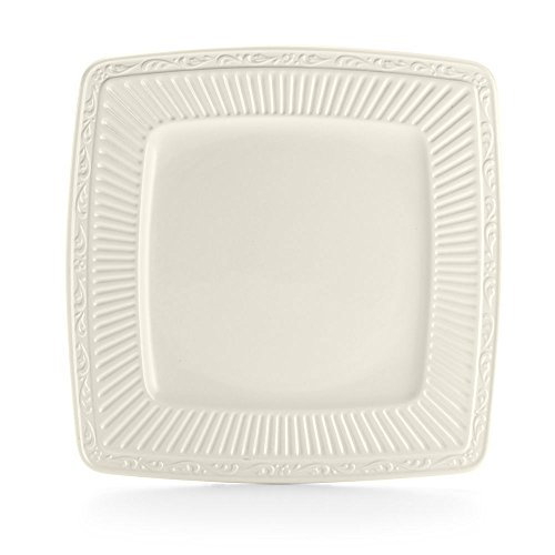 Mikasa Italian Countryside Square Brunch Plate, 9-1/4-Inch, (Italian Countryside Square Dinner Plate)