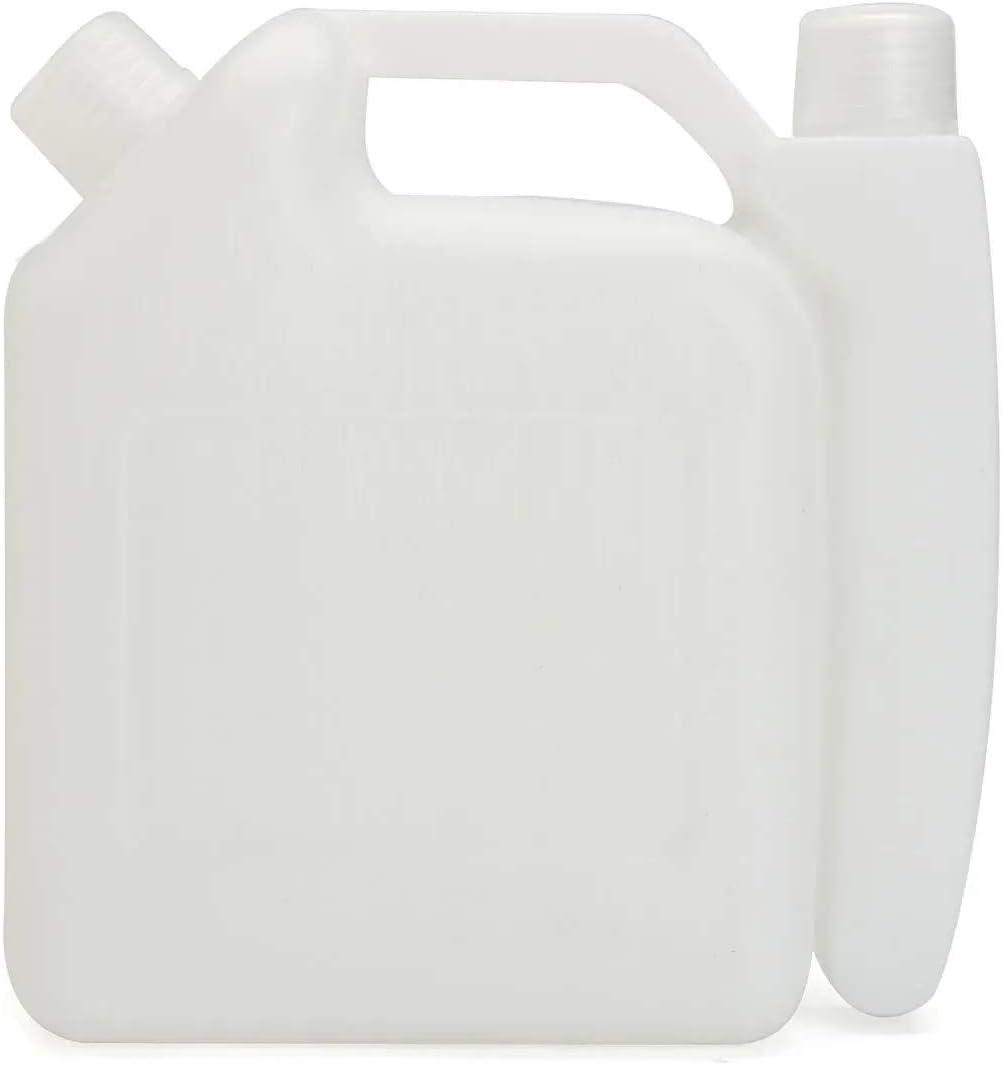 Bolsas de plástico ecológicas 25: 1 50: 1 for la botella de mezcla de la motosierra Trimmer 1L 2 tiempos Aceites de gasolina del tanque de combustible de contenedores