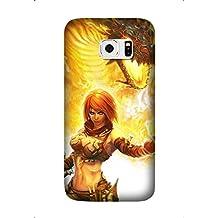 Samsung Galaxy S6 Edge Plus/S6 Edge+ Protective Case -Custom Game Golden Axe: Beast Rider pattern Unique Samsung Galaxy S6 Edge Plus/S6 Edge+ Case