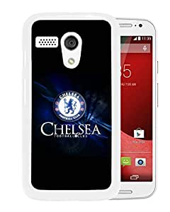 Fashionable Custom Designed Skin Case For Motorola Moto G With Chelsea White Phone Case 16