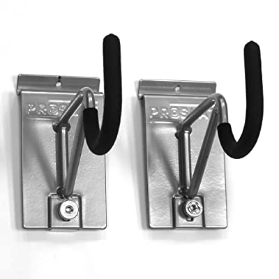 Proslat 13012 Super Duty/Bike Hooks Designed for PVC Slatwall, Locking, 2-Pack