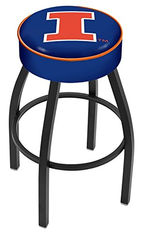 NCAA Illinois Fighting Illini 30'' Bar Stool by Covers by HBS