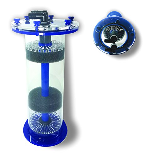 AquaFX Blue Tang Media Reactor Complete with Sicce pump (Fluidized Reactor)