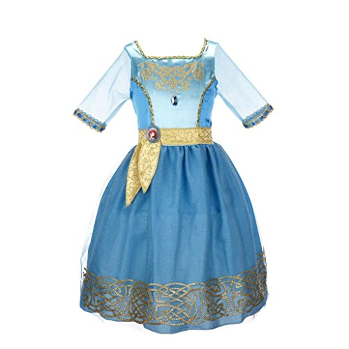 Disney Princess Merida Bling Ball Dress - Merida Costume Kids