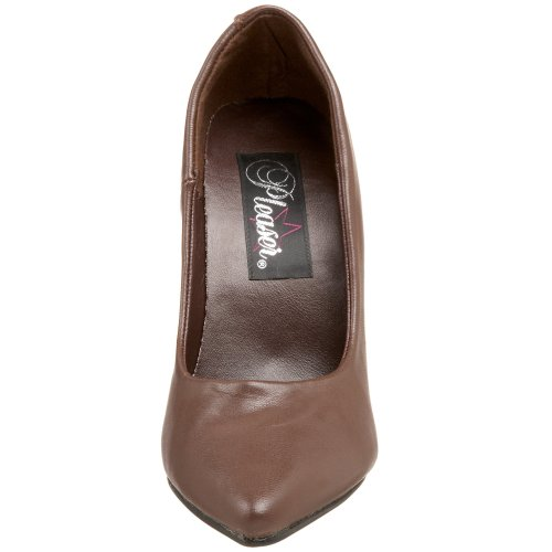 Pleaser Seduce-420, Zapatos De Tacón para Mujer Marrón (Brown Leather)