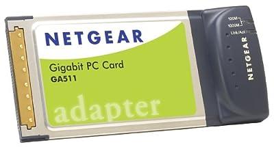 NETGEAR GA511 Gigabit Ethernet PC Card