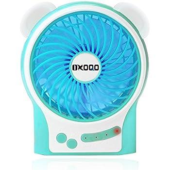 Amazon Com Portable Usb Mini Fan Oxoqo Desk Desktop