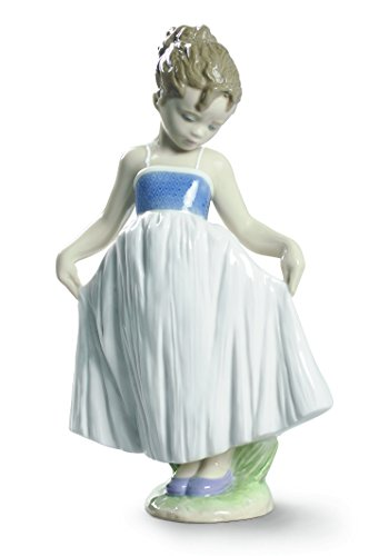 Lladro Look At My Dress Figurine by Lladro