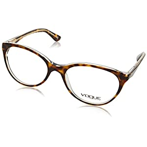 Vogue VO2962 Eyeglass Frames 1916-51 - Top Havana/Transparent VO2962-1916-51