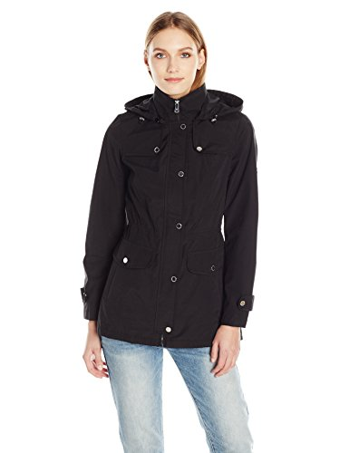 1 Madison Women's Hooded Cotton Anorak