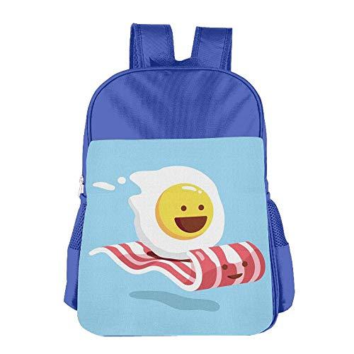 Kids School Backpacks Magic Bacon Ride Shoulders Bags Schoolbag For Cute Teens Boys Girls Students