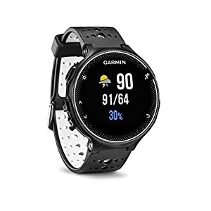 Garmin Forerunner 230 Black/White (Certified Refurbished)
