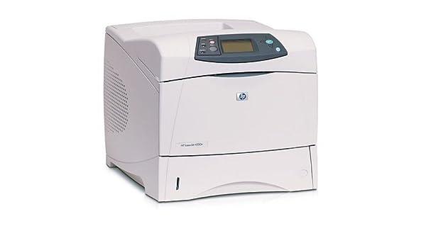 HP LaserJet 4350n Printer - Impresora láser (1200 x 1200 DPI, 250000 páginas por mes, PDF 1.3, 52 ppm, 52, 55 ppm, 60s) No: Amazon.es: Informática