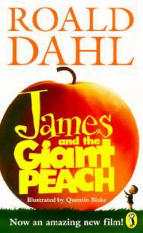James and the Giant Peach (English and Spanish Edition) (Label Peach)