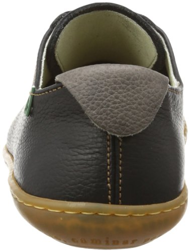 El Naturalista N296 P.Grain Black/El Viajero, Sneaker Unisex-Adulto Nero (Schwarz (Black))