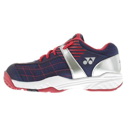 - TennisExpress Yonex Juniors` Power Cushion Pro Tennis Shoes Navy Blue