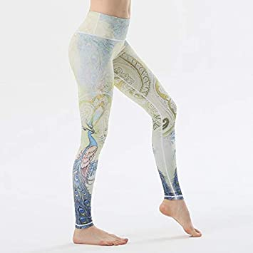 KDYZJK Yoga Step On Foot Fit Sport Pants Elastic Fitness Gym Pants ...