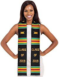 Class of 2019 Kente Cloth Graduation Stole and Our Daily Bread Book