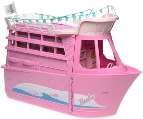 B00008RF20 Barbie CRUISE SHIP Playset w Child Size CAMERA Activates Tropical SOUNDS! (2002) 41MAV5GNRKL.