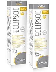 Eclipsol Ultra FPS 50+ Protector Solar Paquete de 2 Tubos de 125gr c/u