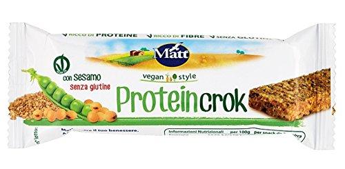 4 opinioni per Matt Proteincrok- 8 pezzi da 36 g [288 g]