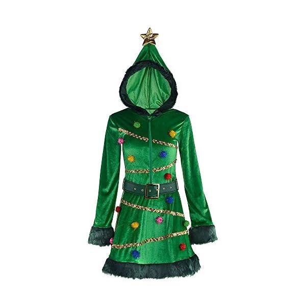 Christmas Xmas Tree Adult Costume Dress