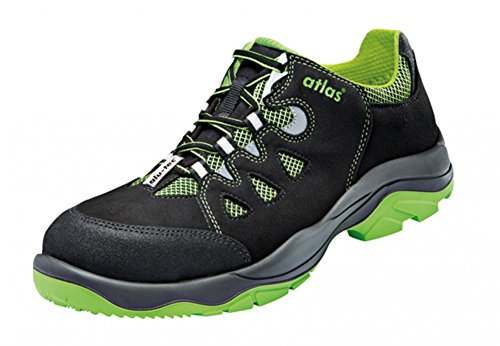 Atlas Herren Safety Schuhe Nero/Verde