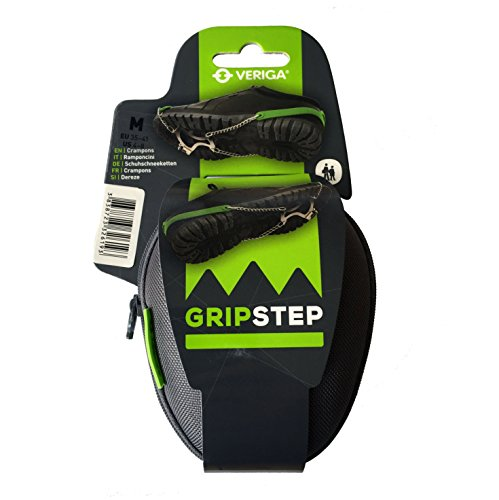 Veriga Gripstep Crampons Ice Traction Cleats, Medium (35-41 EU) by Veriga