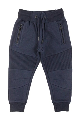 Legacy Fashion Moto Fleece Sweatpant Navy (Kids) 3T by Jordan Craig
