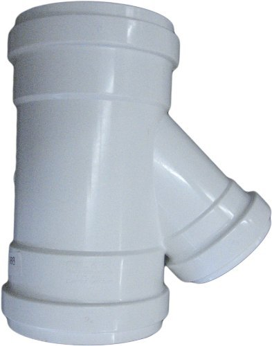 Plastic Trends G306-4 PLASTIC PVC SDR35 Gasketed Wye