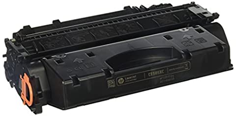 HP High Yield, Black LaserJet Toner Cartridge - CE505XC (Hp 05a Cartridge)