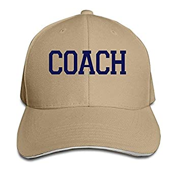 Hittings Coach Unisex 100% Cotton Adjustable Baseball Cap Natural ...