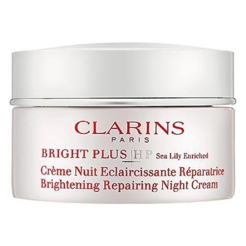 Clarins Paris Bright Plus Hp Brightening Repairing Night Cream 1.7oz /50ml : 1 (Bright Plus Hp Brightening)