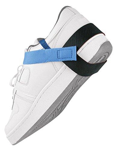 DESCO 17200 ABS Plastic Static Control Heel Foot Grounder with 1 Meg Resistor