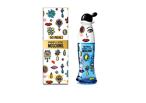 Moschino Cheap and Chic so Real for Women Eau De Toilette Spray, 3.4 Ounce