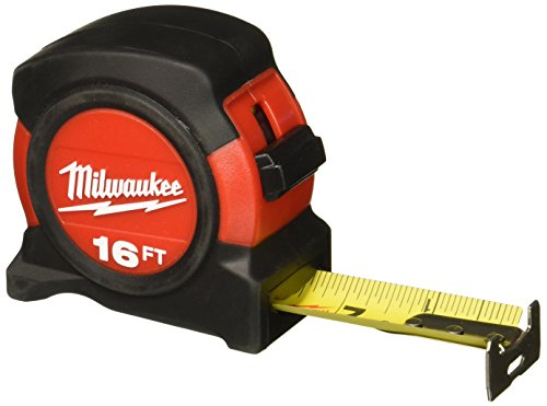 16' Heavy Duty Tape Measure Milwaukee Tape Measures and Tape