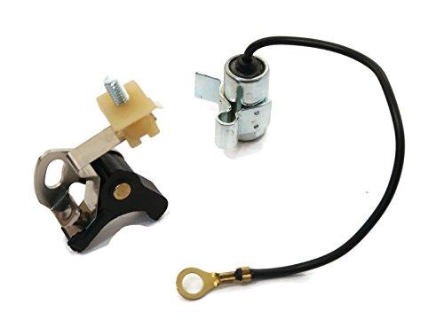 The ROP Shop Points & Condenser Ignition Set fit Tecumseh H22 H25 H30 H35 H40 H50 H60 H70 H80 ()